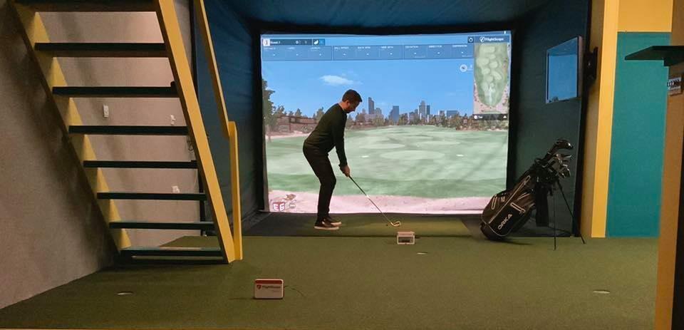 Golf in Progress