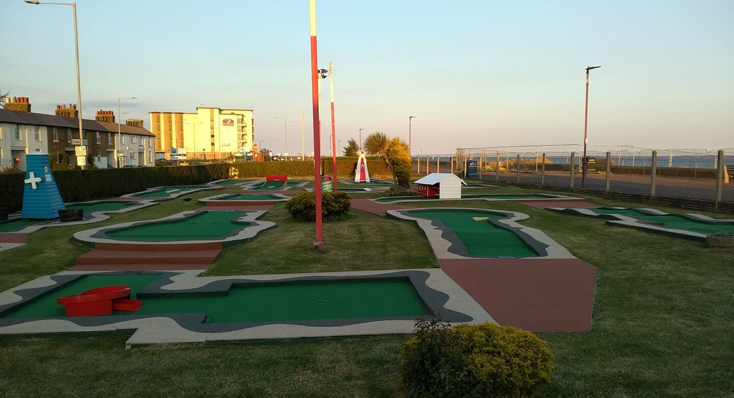 Arnold Palmer Crazy Golf Course