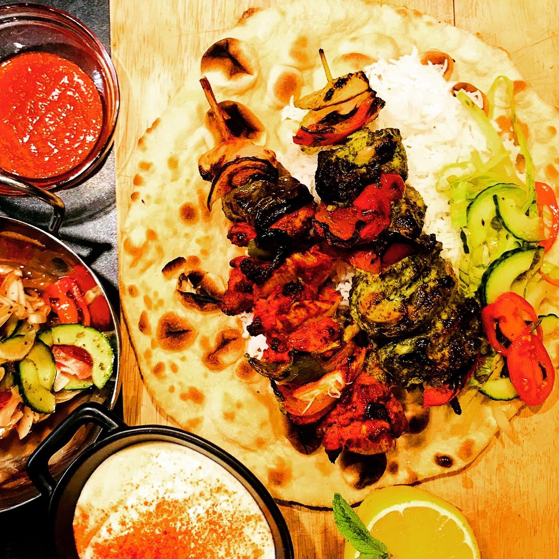 Food served at Legend Deli