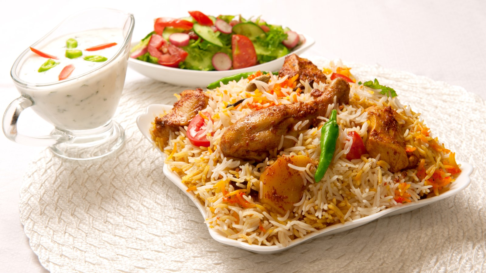 Food served at Ruchi Restaurant